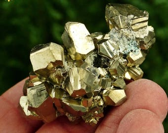Pyrite Cube with a Brilliant Metallic Luster and Excellent Crystallization, Crystal, Mineral, Natural Crystal, Mineral Stone
