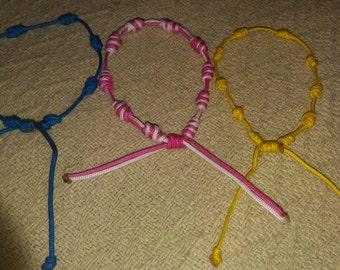 Handmade knotz (Decenario) bracelet