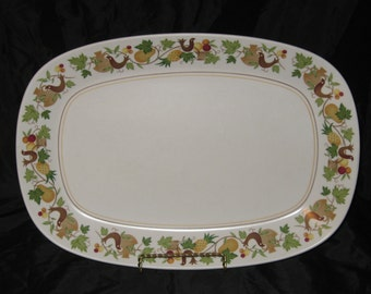"Vintage Noritake Homecoming 13"" Platter"