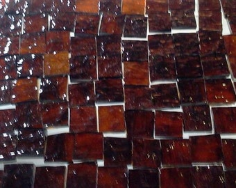 ROOT BEER GRANITE Mosaic Stained Glass Tiles A14