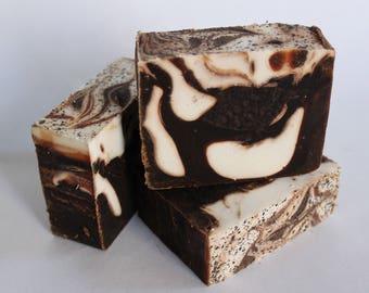 Cocoa + Vanilla Handmade Goat Milk Soap