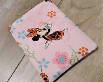 Minnie Mouse Birth Control Case Pill Pac Sleeve Pill Holder Business Card Holder Business Card Sleeve Disneyland Pill Case