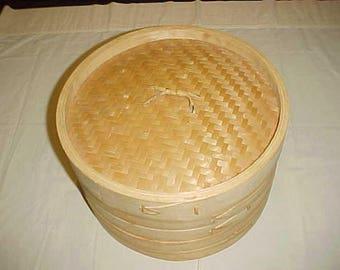 Bamboo Steamer Cooking Steamer