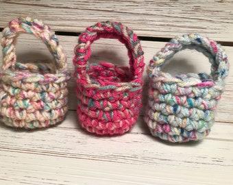 Crochet Mini Basket