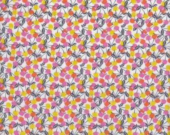 Blend Fabrics Field Day Cherries Jubiliee in Orange - Half Yard