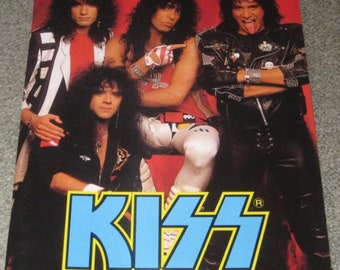 Kiss Japanese Tour Program 1988