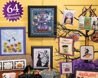 COMING iN EaRLY JULY! 2018 ISSuE - JuST CRoSS STiTCH 2017 2016 Halloween Collector's Edition cross stitch patterns magazine fantasy