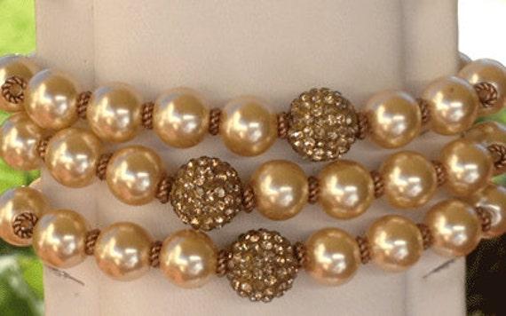 Tender Loving Care Bracelet - gold,