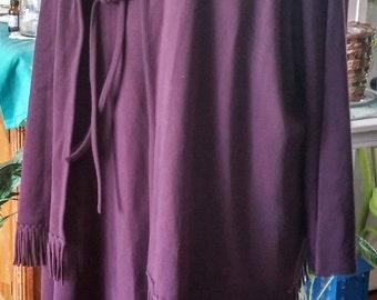 Plum colored Nina Leonard Dress NWT