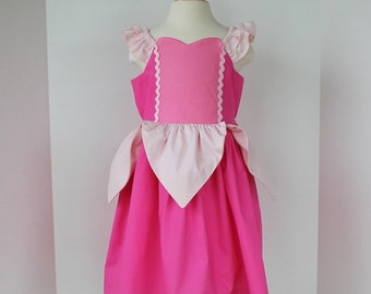 Sleeping Beauty Dress - Pink Princess  Dress - Aurora Dress - Disney Princess Inspired Dress - Fairytale Collection