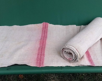 Antique 18c. Cloth Covering of Fabric Homespun Used for Wedding Celebration