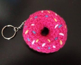 Donut Keychain
