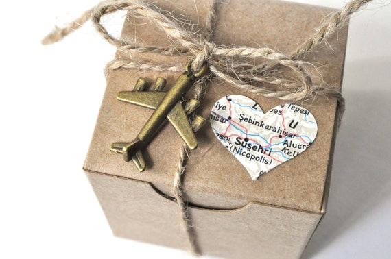 25 travel theme favors map favors travel favors airplane