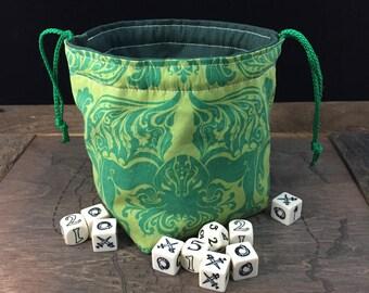 Cthulhu Dice Bag of Nine Pockets