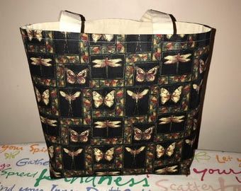 Butterflies and Dragonflies Tote