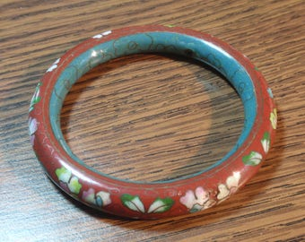 Antique Chinese Cloisonne Bangle