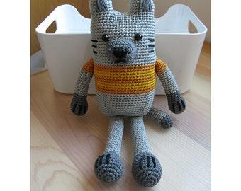Fat Cat Crochet Pattern