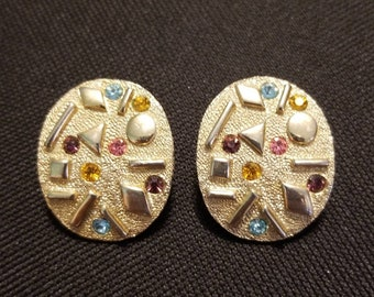 Art Deco Sarah Coventry Sultana Clip-on Earrings