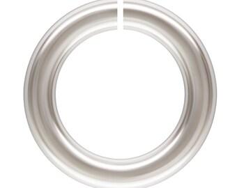 """3mm 22 gauge Open Jump Rings, 100pc, Sterling Silver .025"""" Wire Jump Rings, .925, 3mm Outside Diameter Loops"""