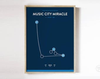 Music City Miracle Poster
