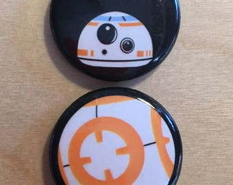 Star Wars BB-8 Pinback Button Set