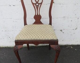 Carved Desk Vanity Chair by Berkey and Gay Furniture 8794