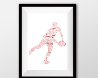 Rugby artwork, Rugby, Rugby painting, Rugby word art
