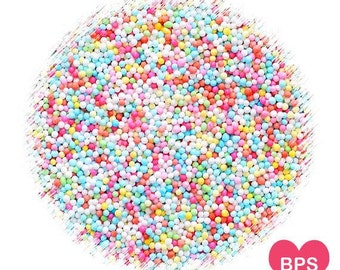 Party Pastel Rainbow Nonpareil Sprinkles Mix, Party Pastel Rainbow Nonpareils, Pastel Sprinkles, Cupcake Sprinkles, Easter Sprinkles