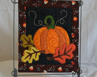 Autumn Night, October  Monthly Mini PDF Quilt Pattern  - PDF PATTERN