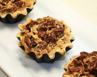 "Mini Pie, Bourbon Toasted Pecan, Mini Pie - 6 pcs. of 3"" mini pies"
