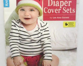 Leisure Arts Booklet Diaper Cover Sets to Knit