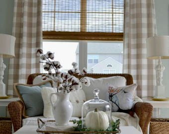 check on and gray obsession decor buffalo best curtains images bedroom farmhouse drapes chess