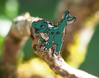 Water Dragon Hard Enamel Pin