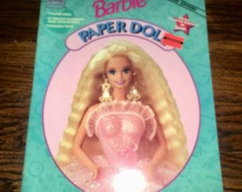 Vintage BARBIE Paper Doll Book 1994 Intact