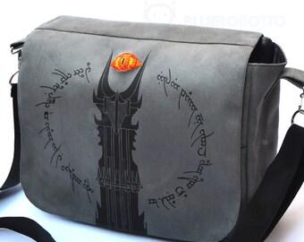 The tower of Mordor Messenger bag
