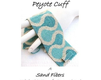 Ruffles Peyote Cuff  - For Personal AND Commercial Use  PDF Pattern