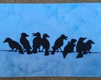 Postcard - Caw-cus Meeting