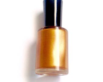 Autumn Leaves Nail Polish-Orange Nail Polish-Fall Nail Polish-Halloween Nail Polish