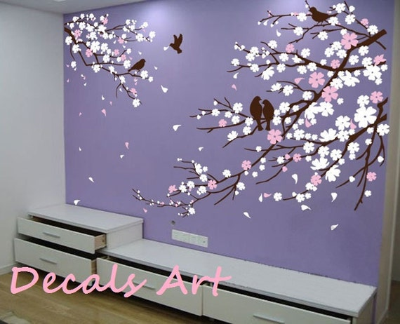 Items Similar To Cherry Blossom Branches With Birds