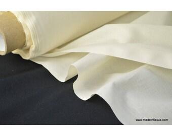 Toile à draps coton écru . x 1m