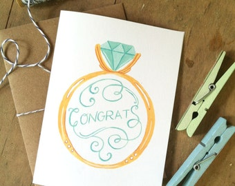 Wedding Congrats Card