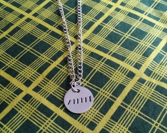 """Domino Prince Liam """"The Royals"""" Inspired Necklace"""