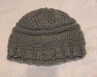Textured Knit Hat