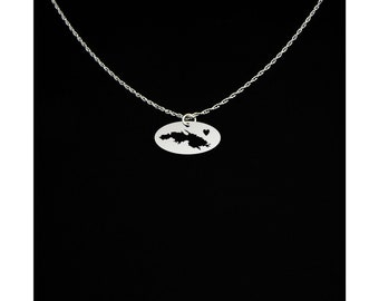 St Thomas Necklace - St Thomas Jewelry - St Thomas Gift