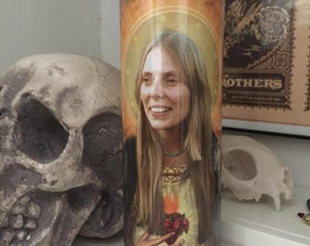 St Joni Mitchell Prayer Candle