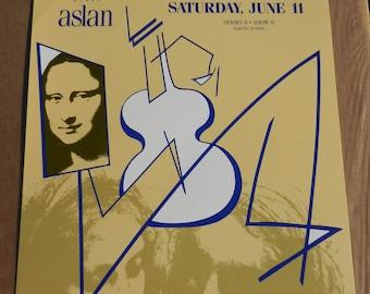 Vintage Fillmore Graham Parker 1988 Rock Concert Poster