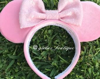 Millennial pink ears