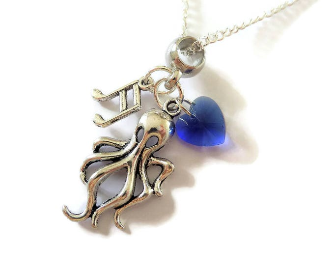 Once Upon a Time - VILLAINS inspired ' URSULA ' charm necklace - fan gift - ouat - jewellery - favors