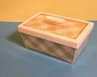 Vintage Insulated Polytemp Butter Dish