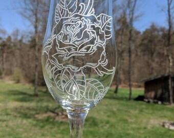 Rose's Wine Glass